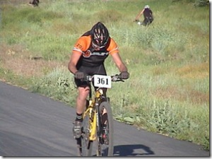 Fatty on the home stretch at Soldier Hollow