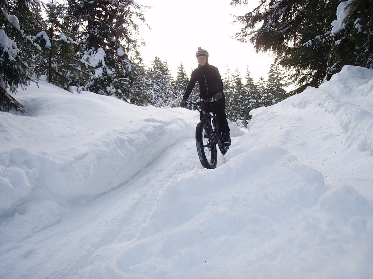 Why Not Today? After All, If You're A Snow Biker, A Whole New Cycling  Season Is Just Beginning