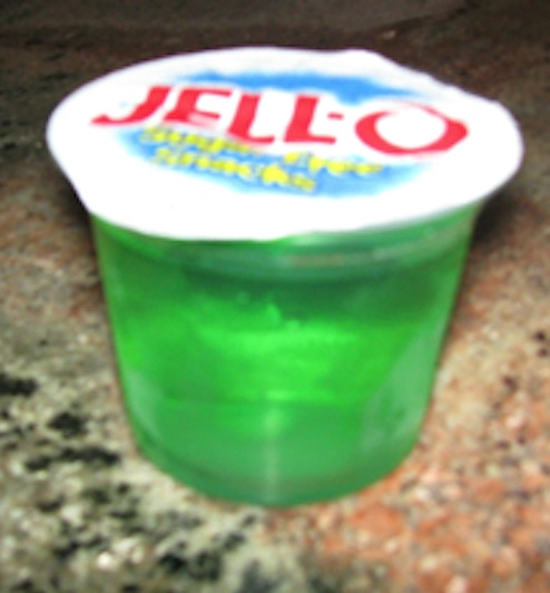 Bowl Of Green Jello Fa...