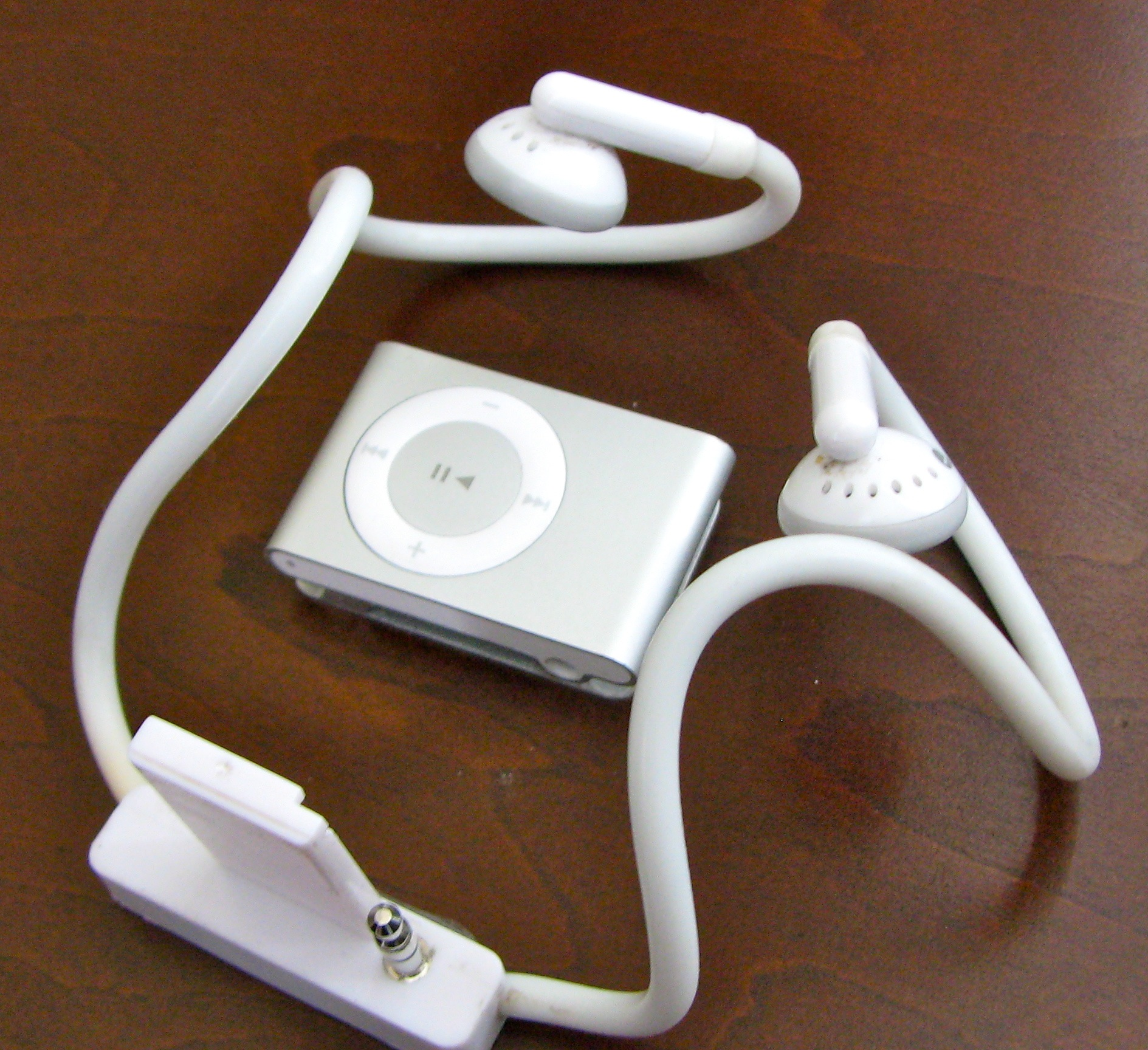 wireless headphone adapter for ipod shuffle image. Black Bedroom Furniture Sets. Home Design Ideas