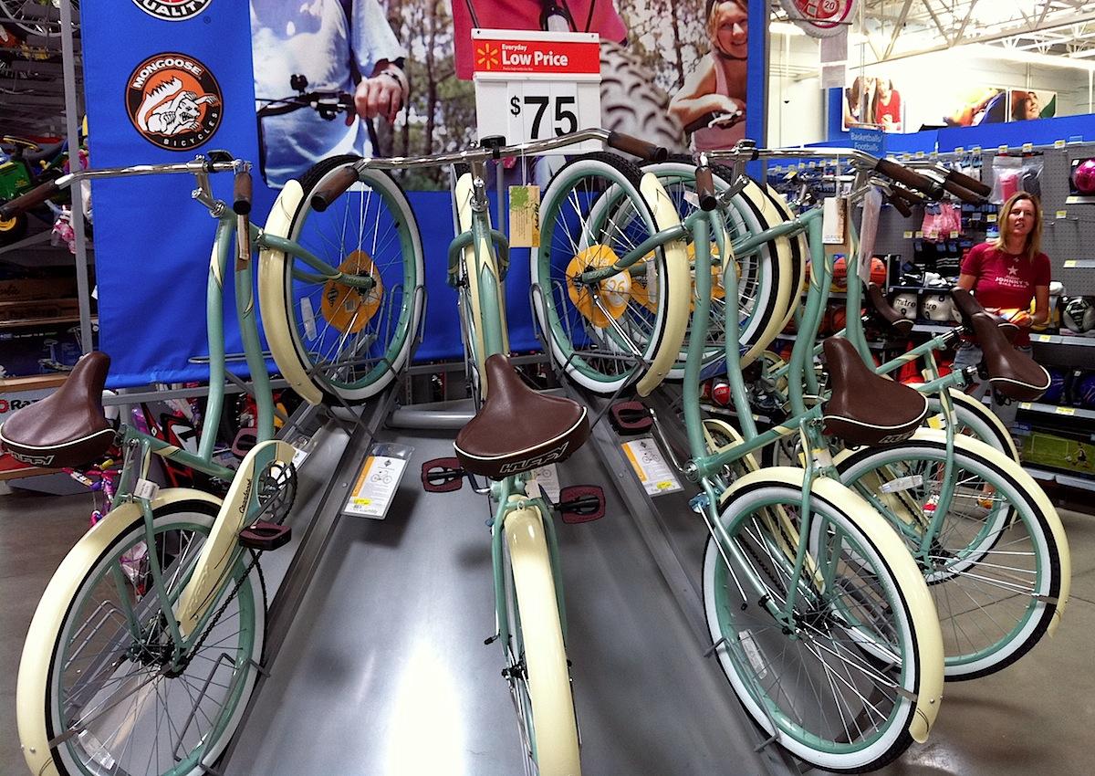 Bikes at Wal-Mart