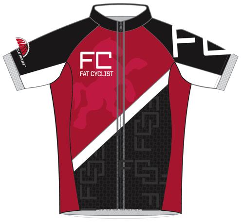 2015 FATCYCLIST.COM Jersey: Front View