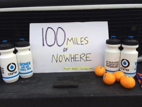 Bumper aid station 100 mon