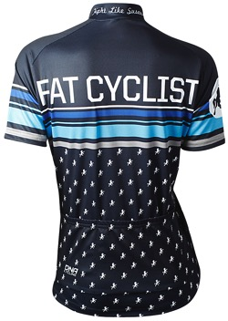 Fat Cyclist Blue Wns Jersey back